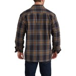 Carhartt Men's Hubbard Sherpa Lined Shirt Jac - view number 5