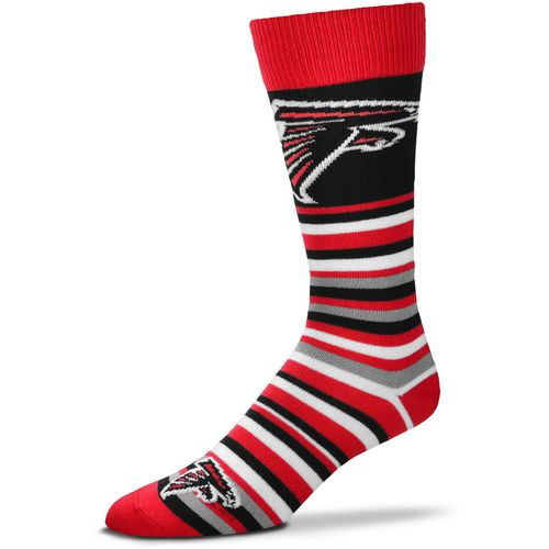 For Bare Feet Atlanta Falcons Lotta Stripe Thin Knee High Dress Socks