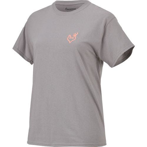 Browning Women's Star Buckheart T-shirt - view number 1