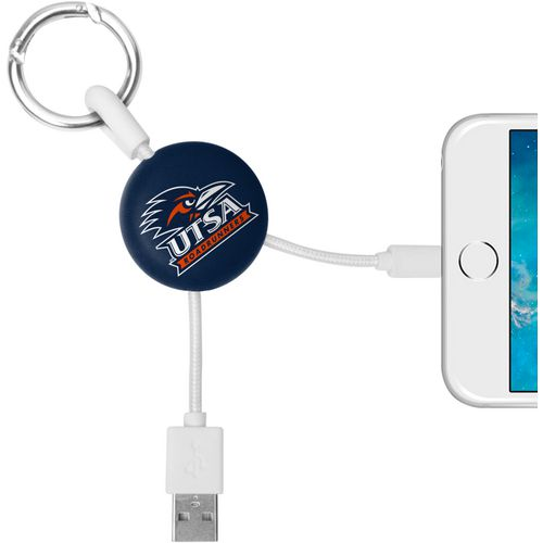 Mizco University of Texas at San Antonio Lightening Phone Charger Keychain Cable