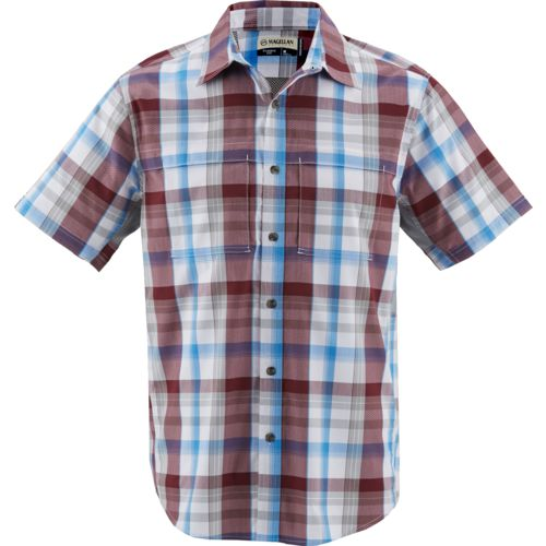 Magellan Outdoors Men's Backpacker Trail Plaid Shirt - view number 3