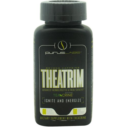 Purus Labs TheaTrim TeaCrine Thermolipolytic and Focal Catalyst
