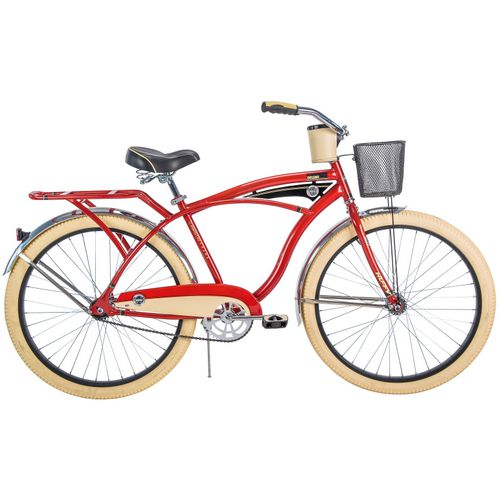 Huffy Men's Deluxe 26 in Perfect Fit Cruiser Bicycle