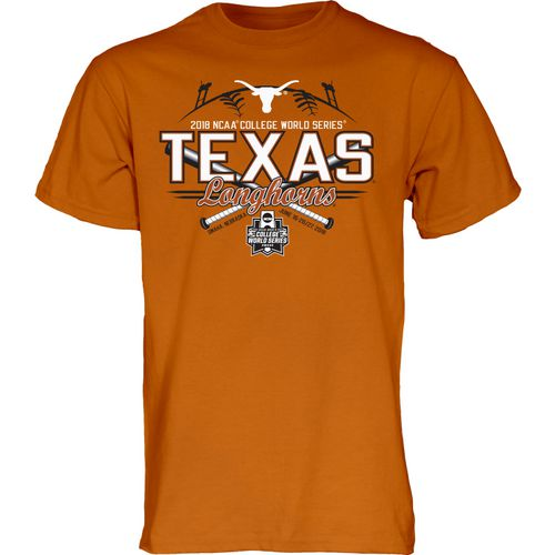 Blue 84 Men's University of Texas College World Series 2018 Extra Bases T-Shirt