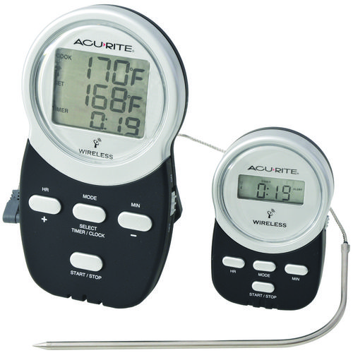 CHANEY® Acu-Rite Wireless Digital Barbecue Thermometer with Remote Pager