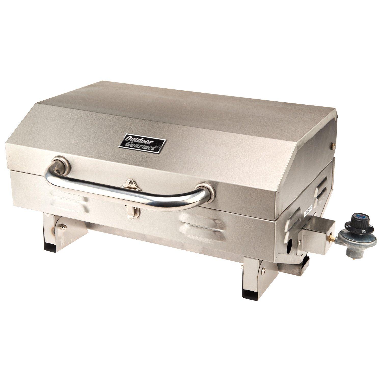 Outdoor Gourmet 1-Burner Gas Tabletop Grill