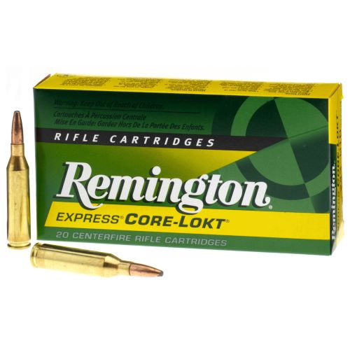 Image for Remington Core-Lokt® .243 Win. 100-Grain Centerfire Rifle Ammunition from Academy