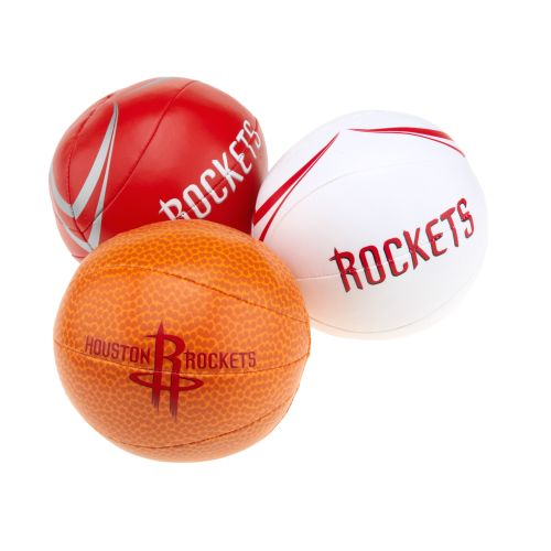 K2 Licensed Products 3-Point Shot Softee Basketballs 3-Pack