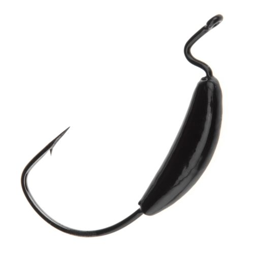 Big Bite Baits Pro Series 4/0 Gamakatsu Weighted Single Hooks 4-Pack