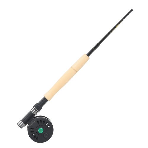 Crystal river executive pack 7 39 freshwater saltwater spin for Saltwater fly fishing combo