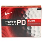 Nike Power Distance 7 Long Golf Balls 12-Pack