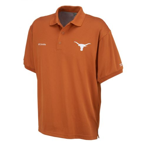 Columbia Sportswear Men's Collegiate Perfect Cast™ University of Texas Polo