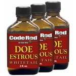 Code Blue Code Red Estrous Scents 3-Pack