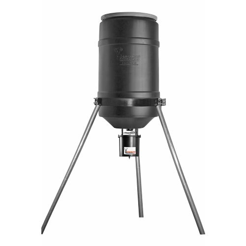 American Hunter 225 lb. Capacity Tripod Feeder with RDE Digital Timer