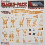Stockdale NCAA Family Pack Peel and Stick Movable Decals 28-Pack