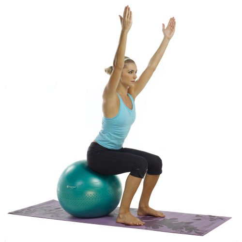Gaiam Eco Total Body 65 cm Balance Ball Kit - view number 3