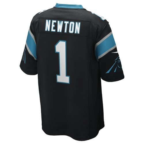 Nike Men's Carolina Panthers Cam Newton Game Jersey - view number 2