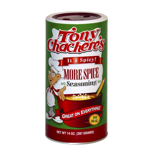 Display product reviews for Tony Chachere's 14 oz. More Spice Seasoning