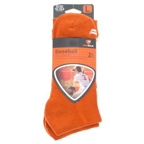 Display product reviews for Sof Sole Team Performance Baseball Socks Large