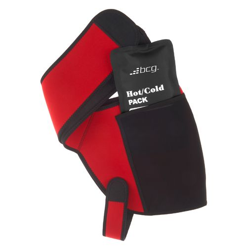 Display product reviews for BCG Shoulder Wrap with 2 Hot/Cold Packs