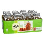 Ball® 32 oz. Regular-Mouth Jars with Lids and Bands
