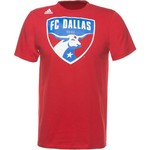 adidas™ Men's FC Dallas Logo T-shirt - view number 1