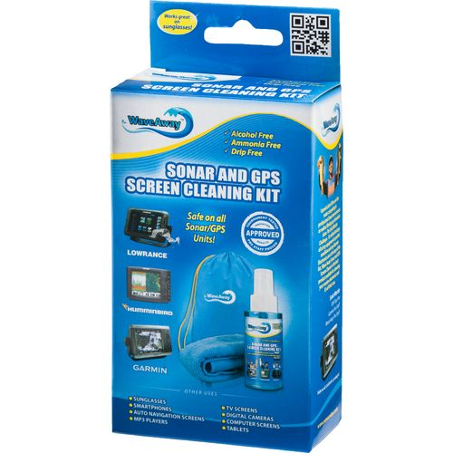 Wave Away Sonar and GPS Screen Cleaning Kit
