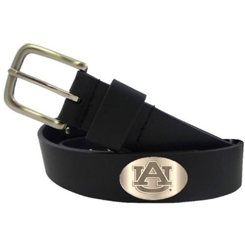 CLC Men's Auburn University Smooth Concho Belt