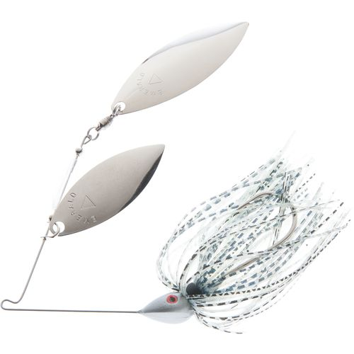 Hoppy's Tandem Double Willow 3/8 oz. Nickel Spinner Bait