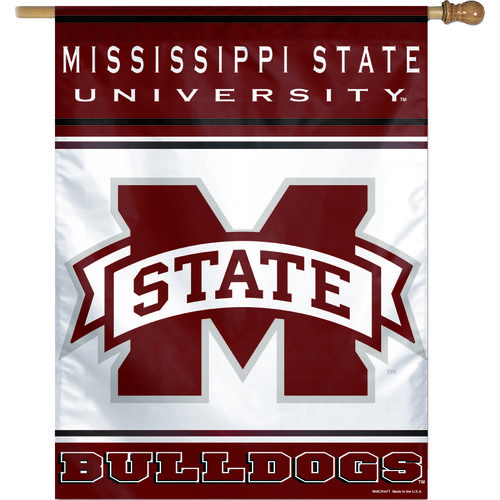WinCraft Mississippi State University Vertical Flag