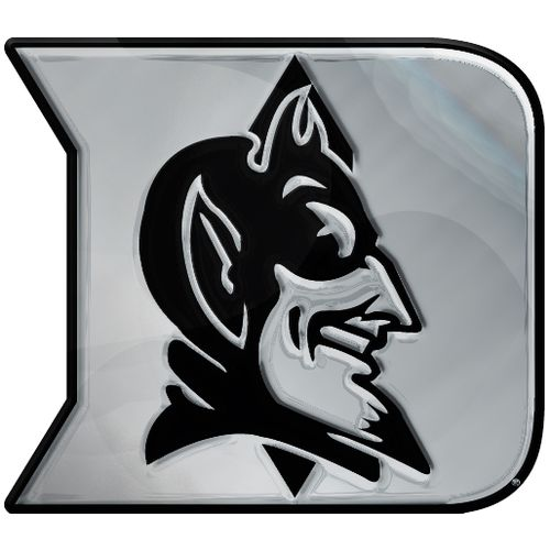Stockdale Duke University Chrome Auto Emblem