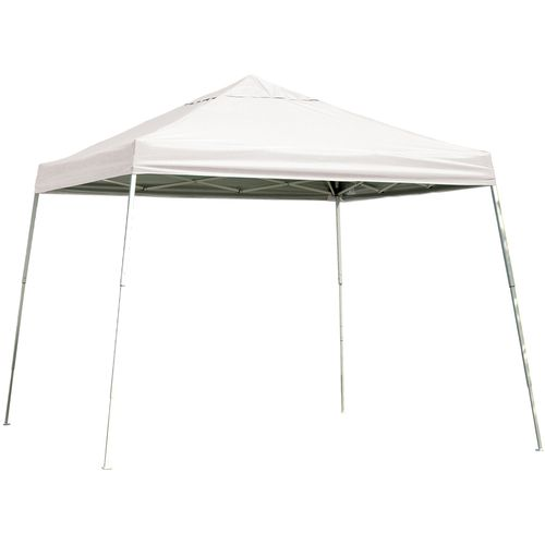 ShelterLogic Sport Series Slant-Leg 12' x 12' Open-Top Pop-Up Canopy