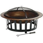 "Mosaic™ 40"" Metallic Fire Bowl"