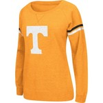 Colosseum Athletics Women's University of Tennessee Stadium Vegas Boat Neck Pullover
