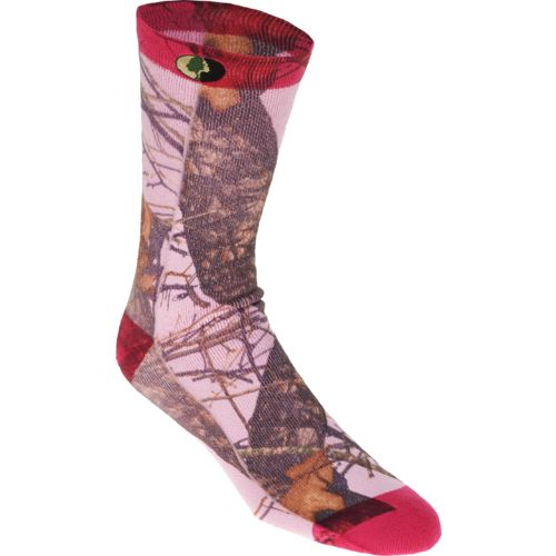Mossy Oak Adults' Hunt Sublimated Camo Crew Socks