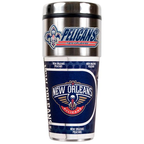 Great American Products New Orleans Pelicans 16 oz. Travel Tumbler