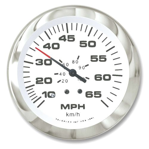 SeaStar Solutions Sierra Signature Lido Instruments Speedometer