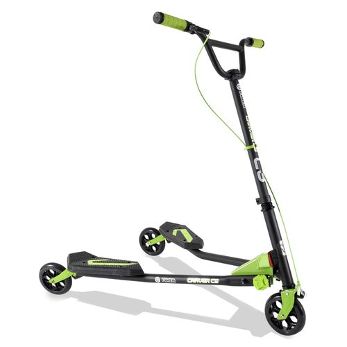 Display product reviews for Yvolution Kids' Y Fliker Carver Series Scooter