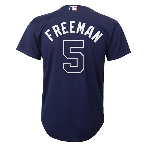 Majestic Boys' Atlanta Braves Freddie Freeman #5 Replica Jersey