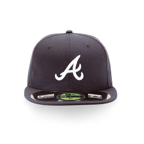 New Era Men's Atlanta Braves Authentic Collection 59FIFTY® Road Cap