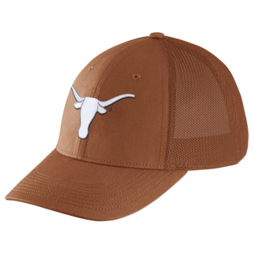 Nike™ Men's University of Texas Dri-FIT Legacy91 Mesh Back Swoosh Flex Cap