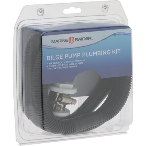 Marine Raider 3/4 in Bilge Pump Plumbing Kit
