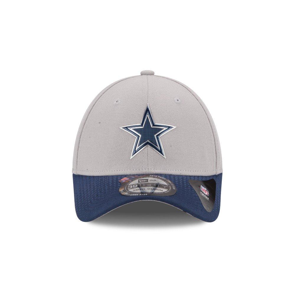 Image for new era men 39 s dallas cowboys draft 39thirty cap for Dallas cowboys fishing hat