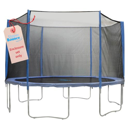 Upper Bounce® 7.5' Enclosure Set for Trampolines with 3 or 6 W-Shaped Legs