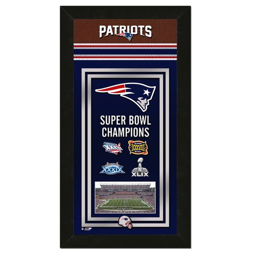 Photo File New England Patriots Championship Banner