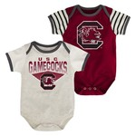 Genuine Stuff Infants' University of South Carolina Team Pride Onesies 2-Pack