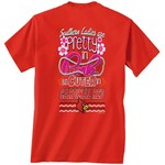 New World Graphics Women's University of Louisville Cuter in Team T-shirt