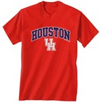New World Graphics Men's University of Houston Arch Mascot T-shirt