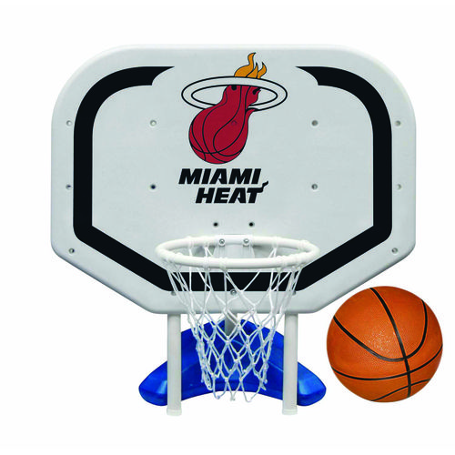Poolmaster® Miami Heat Pro Rebounder Style Poolside Basketball Game