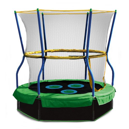 "Skywalker Trampolines 40"" Lily Pad Adventure Bouncer with Enclosure"
